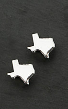 Bar V Ranch by Vogt Sterling Silver Texas Silhouette Earrings