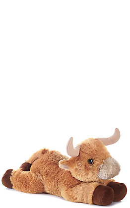 Aurora Flopsies Toro Bull Stuffed Animal