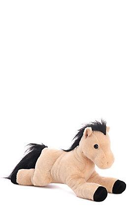 Aurora Diego Brown Stuffed Horse