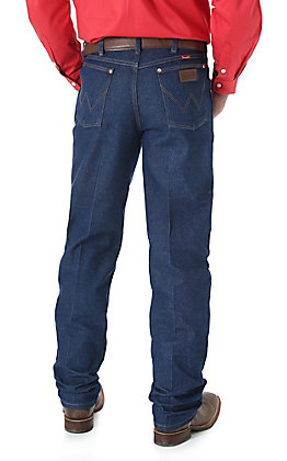 Wrangler Men's Cowboy Cut Rigid Denim Relaxed Fit Tall Jeans