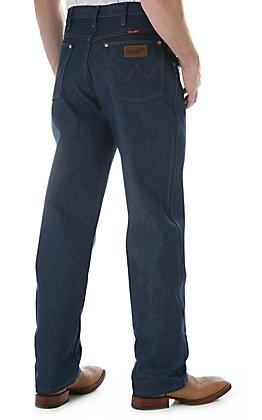 Wrangler Men's Cowboy Cut Rigid Denim Relaxed Fit Big Jeans