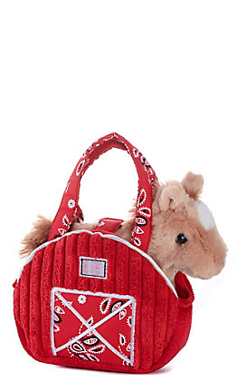 Aurora Red Barn Fancy Pals Stuffed Animal & Pet Carrier