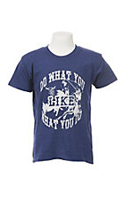 Boy's Blue Like What You Do S/S T-Shirt