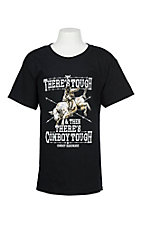 Cowboy Hardware Boy's Black Cowboy Tough S/S T-Shirt