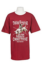 Cowboy Hardware Boy's Cardinal Cowboy Tough S/S T-Shirt