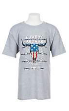 Cowboy Hardware Boys Grey Logo Graphic S/S T-Shirt
