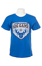 Big Game Boys Royal Short Sleeve T-Shirt