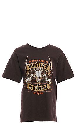 Cowboy Hardware Boys' Brown No Bones About It T-Shirt
