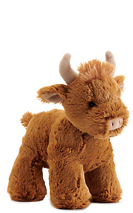 "Aurora Splootsies Bull 9"" Stuffed Animal"
