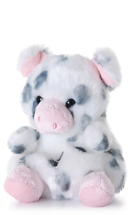 "Aurora Palm Pals 5"" Piggles Spotted Piglet Stuffed Animal"