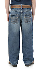 Wrangler 20X Boy's Medium Wash Extreme Relaxed Straight Leg Jeans