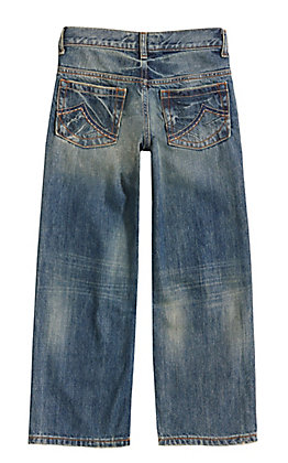 Wrangler 20X Boys' High Noon Relaxed Fit Straight Leg Jean (1T-7)
