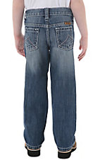 Wrangler Boys' 20Xtreme Lasso Blue Relaxed Fit Jean--Sizes 1-7