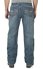 Wrangler 20X Men's Medium Wash Extreme Relaxed Straight Leg Jeans