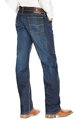 Wrangler 20X Men's 33 Extreme Appleby Dark Wash Relaxed Straight Leg Jean
