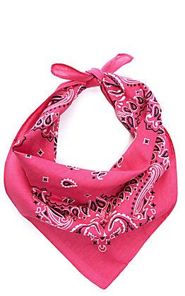 Cavender's Hot Pink Bandana