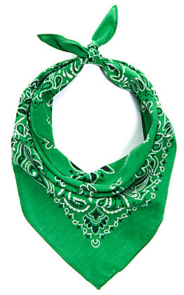 Cavender's Green Bandana