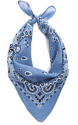 Cavender's Light Blue Bandana