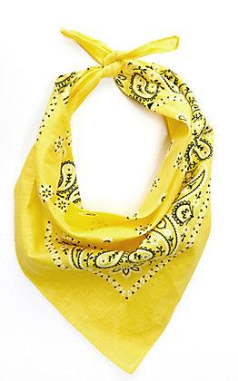 Cavender's Yellow Bandana