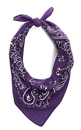 Cavender's Purple Bandana