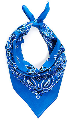 Cavender's Royal Blue Bandana