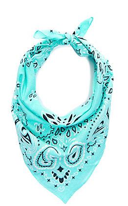 Cavender's Tiffany Blue Bandana