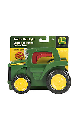 John Deere Kid's Green Tractor Flash Light Toy