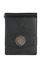 Danbury Collegiate Collection Black with Silver Texas Aggies Bi-fold Wallet