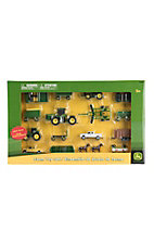 John Deere Kid's Farm Toy Set