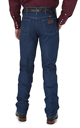Wrangler Premium Performance Men's Prewash Indigo Cowboy Cut Slim Fit Jeans - Tall