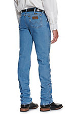 Wrangler Premium Performance Cowboy Cut Light Stonewash Slim Fit Jeans