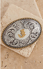 M&F Western Productions. Large Oval Initial J