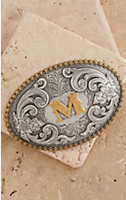 M&F Western Productions Large Oval Initial M