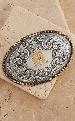 M&F Western Productions Large Oval Initial R