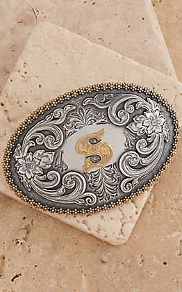 M&F Western Productions Large Oval Initial
