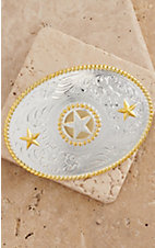 M&F Western Products Justin Star Buckle 3757044