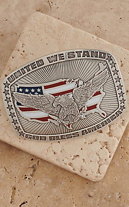M&F Western Products Inc. Eagle American Flag Buckle