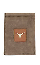 Danbury Collegiate Collection University of Texas Brown Front Pocket Money Clip