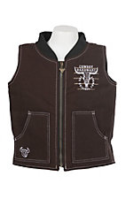 Cowboy Hardware Boys Brown Original Cowboy Vest