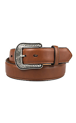 3-D Belt Company Men's Solid Brown Western Belt