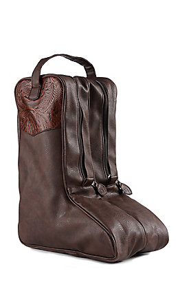3D Belt CO Brown Boot Bag