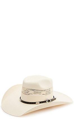 M&F Black Oval Longhorn Conchos Hatband