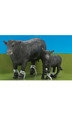 Big Country Toys Black Angus Cow & Calf