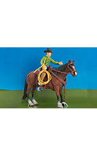 Big Country Toys Cowboy & Horse Figure