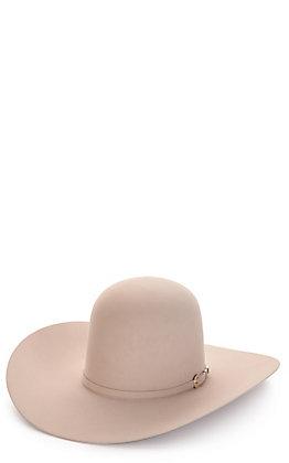 American Hat Company Men's 40X Silver Belly Open Crown Felt Cowboy Hat