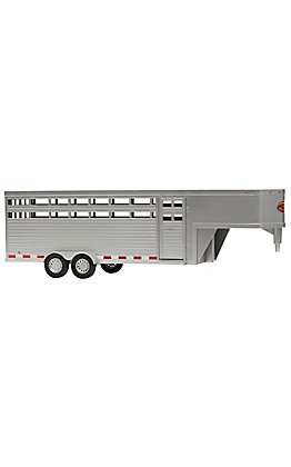 Big Country Toys Silver Sundown 28ft Rancher Trailer