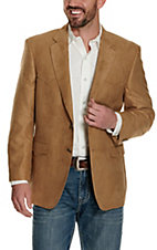 Crown Clothing Camel Microfiber Jacket- Big & Tall Sizes