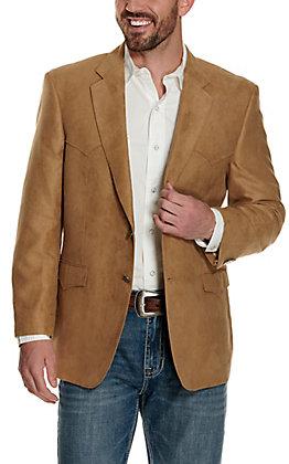 Harmony Western Wear Camel Microfiber Jacket