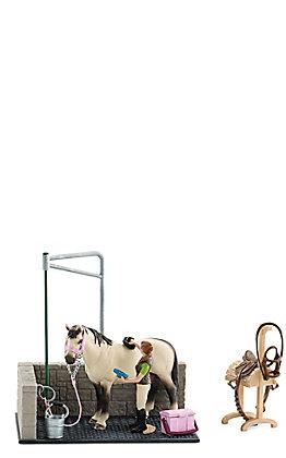 Schleich Horse Club Groom and Wash Set