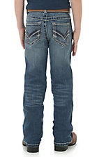 Wrangler 20X Boy's Medium Wash Vintage Boot Cut Jeans